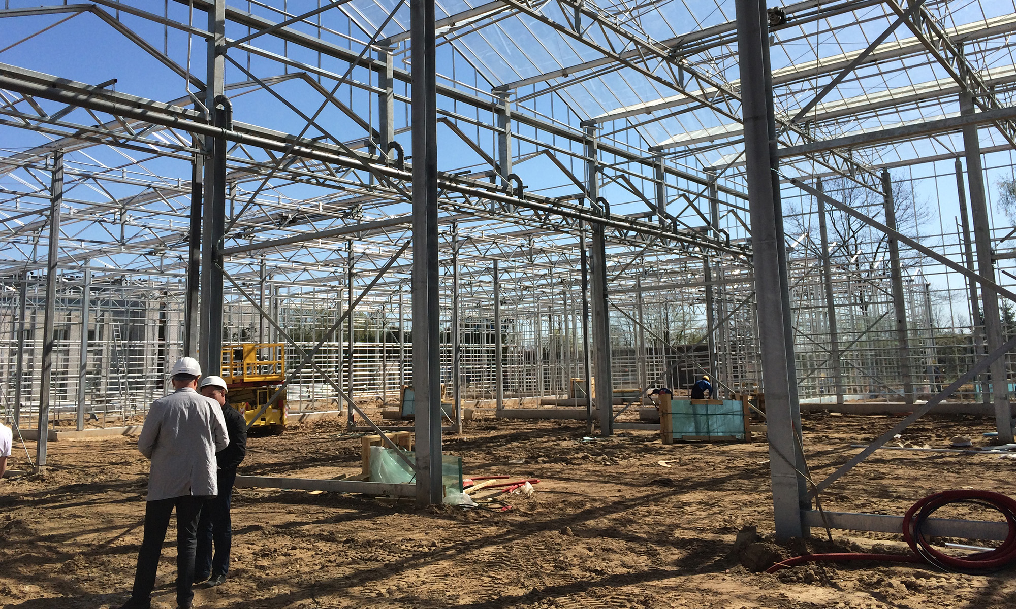 experts design greenhouses